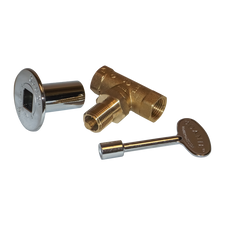 Warming Trends 1/2 inch Key Valve with Key and Plate