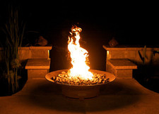 """Fire Pit Art Asia 36"""" Natural Gas or Propane Fire Pit - AS36PITGAS"""