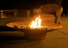 """Fire Pit Art Asia 48"""" Natural Gas or Propane Fire Pit - AS48PITGAS"""