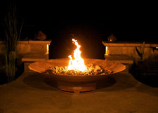 "Fire Pit Art Asia 60"" Natural Gas or Propane Fire Pit - AS60PITGAS"