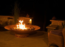 """Fire Pit Art Asia 72"""" Natural Gas or Propane Fire Pit - AS72PITGAS"""