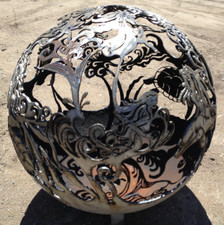 Fireball Fire Pits - Mermaid - 37.5 inch Fire Globe - 3715MM