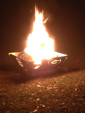 TFPS 24 inch Port-A-Pit Portable Fire Pit - Customize Your Fire Pit