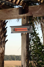 Fire Sense Well Traveled Living Stainless Steel Wall Mounted Infrared Patio Heater - 2110