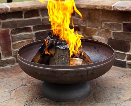 Ohio Flame Patriot 36 Quot Diameter Fire Pit Natural Steel