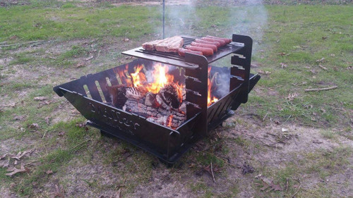 portable fire pit walmart canada port customize your over grass