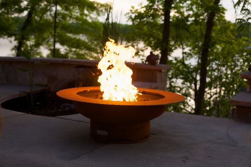 natural gas fire pit burner ring kit inch outdoor ideas