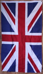 Hand sewn United Kingdom flag