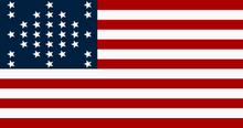 U.S Flag of Fort Sumter