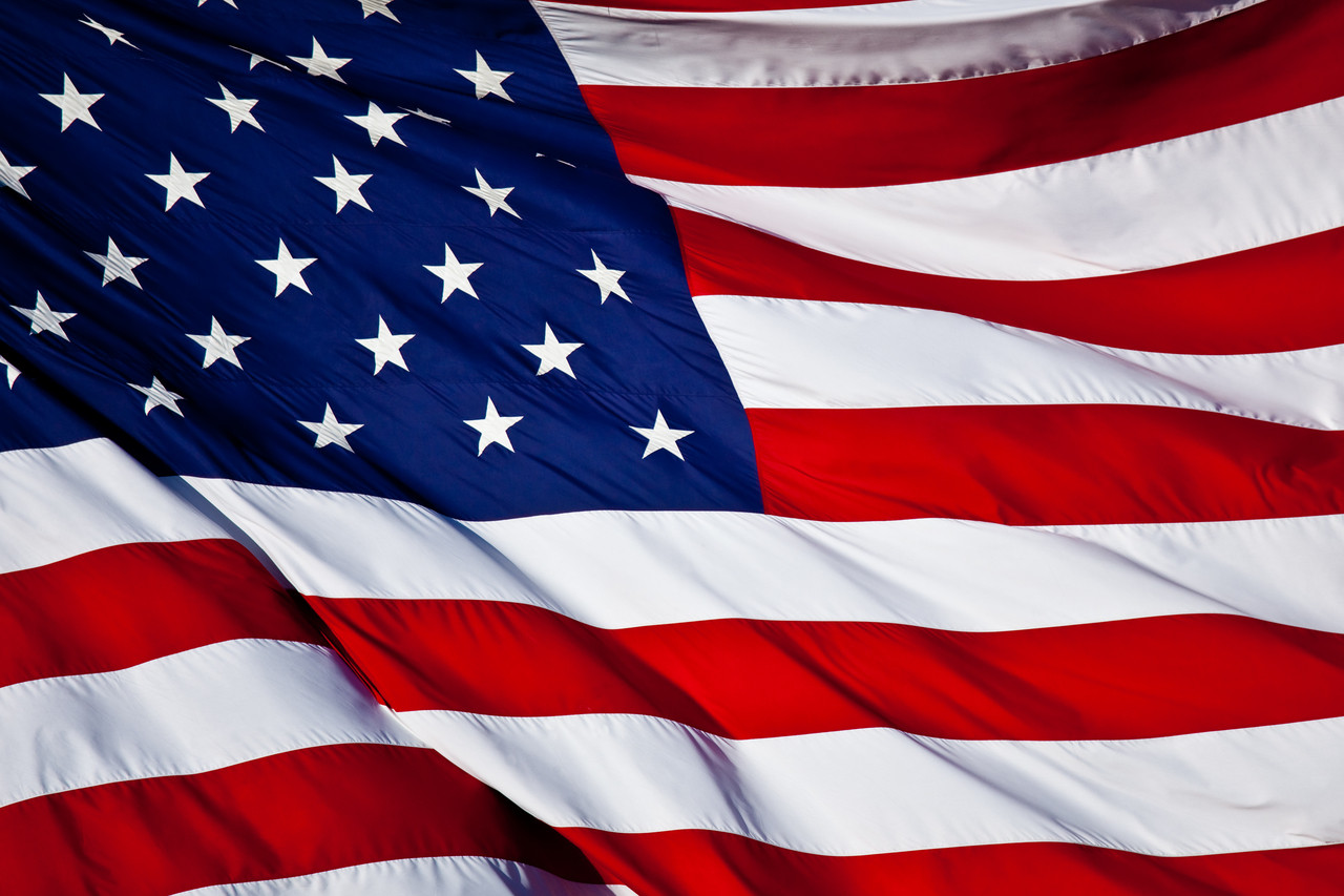United States of America - Cotton Flags