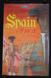 02) David Klein  SPAIN Fly TWA   1960's