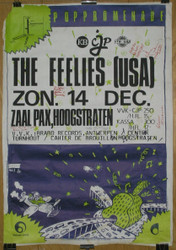 06) The Feelies USA Poster Signed By all Band Members
