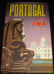 41 - PORTUGAL FLY TWA (Lockheed Constellation) 1960