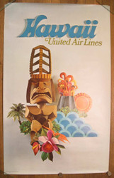 03) Hawaii United Air Lines 1970's