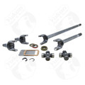 Yukon 4340 Chromoly axle kit for Jeep JK non-Rubicon Dana 30 front, w/1350 (7166) joints