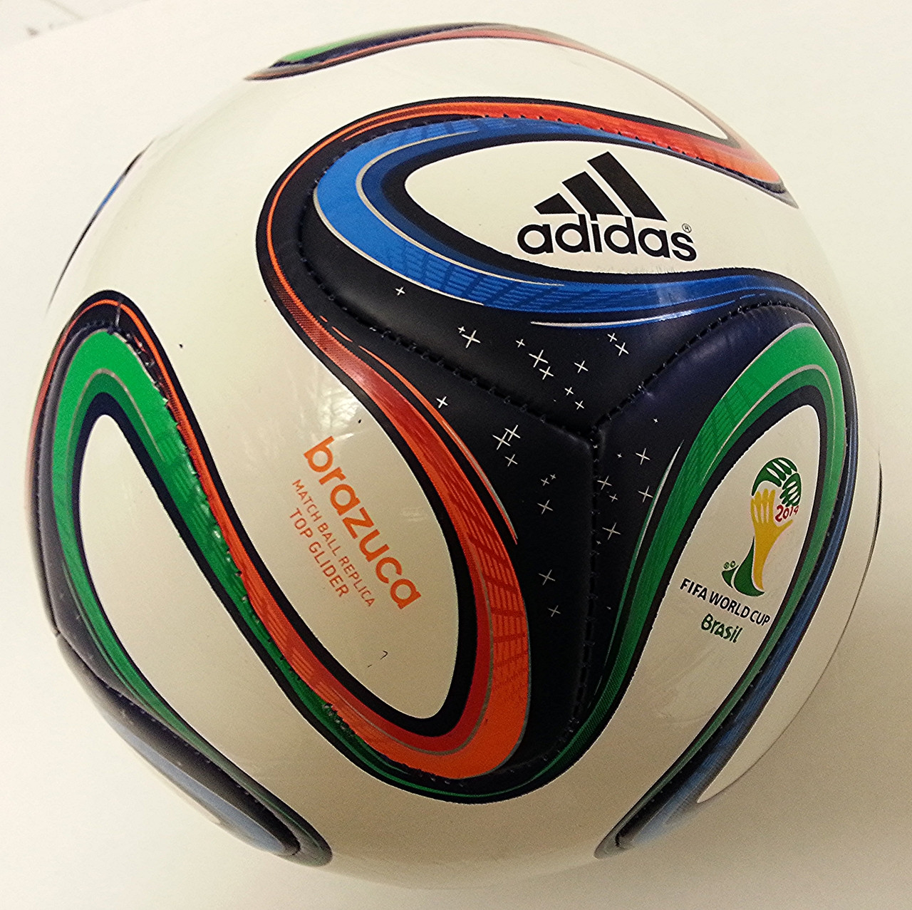 Adidas Brazuca 2014 Fifa World Cup Brazil Official Soccer Ball Top