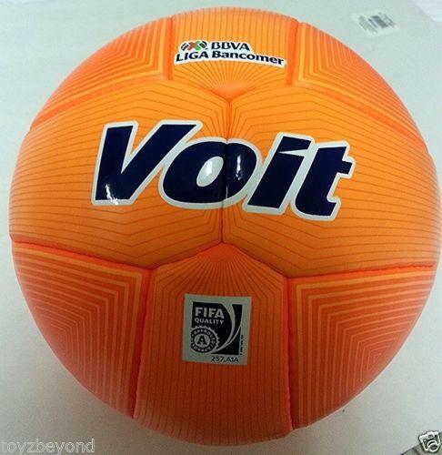 voit fifa approved bbva liga bancomer soccer ball official orange