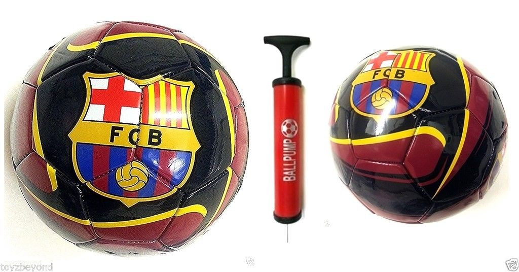 fd316b5a8ef FC BARCELONA SOCCER OFFICIAL SIZE SOCCER BALL (SZ. 5) LICENSED ...