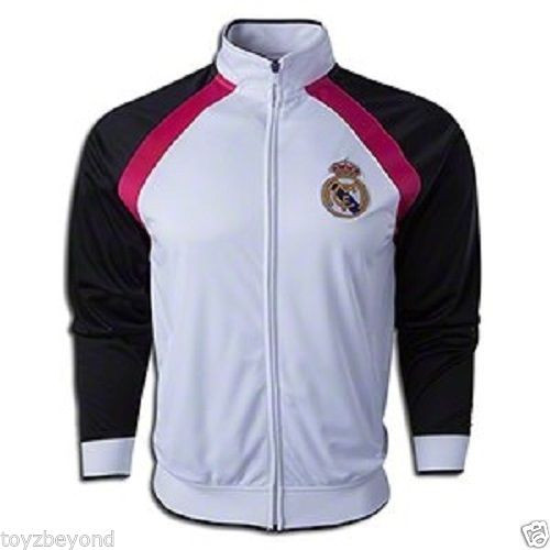 premium selection 4a92c b69cf REAL MADRID TRACK JACKET JERSEY Authentic NEW 2014-2015:QTY 2