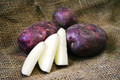 Organic Potato - Viking Purple