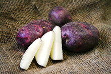 Organic Potato - Viking Purple