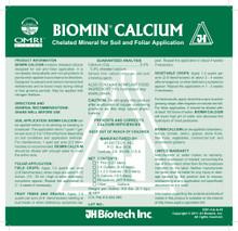 Biomin Calcium Label