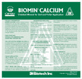 Biomin Calcium Label