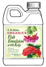 Fish Emulsion with Kelp 4-1-1