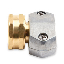 5/8 & 3/4 Female Hose Coupler (Zinc)