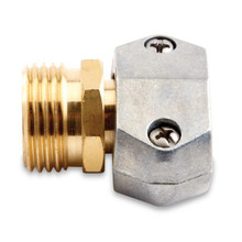 5/8 & 3/4 Male Hose Coupler (Zinc)