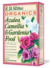 Azalea, Camellia & Gardenia Food (5-5-3) 4 lb, organic plant fertilizer, organic gardening