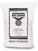 Bat Guano (0-7-0) 55 lb, all natural fertilizer, organic gardening