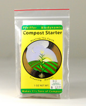 Biodynamic Compost Starter, gardening supplies, organic gardening, composting supplies