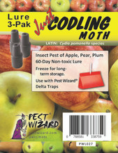 Pest Wizard Codling Moth Lure 3 pack