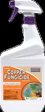 Bonide Copper Fungicide 32 oz RTU, organic plant disease control, organic gardening