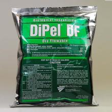 Dipel Wormkiller DF, 1 lb., organic plant treatment, organic gardening