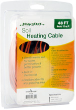 Electric Soil-Heating Cable -- 48 ft, gardening supplies, gardening tools