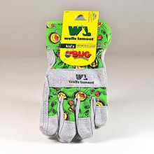 Kids Suede Cowhide Protective Gloves