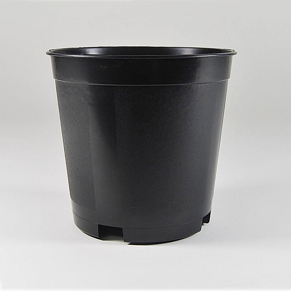 5 15 GALLON PLASTIC NURSERY POTS