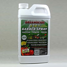 Organocide , 32 oz concentrate, organic plant treatment, organic gardening