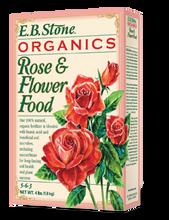 Rose & Flower Food (5-6-3) 4 lb, organic fertilizer, organic gardening