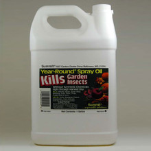 Summit Year-Round Spray Oil - 1 Gal., plant treatment, organic gardening