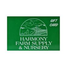 Harmony Farm Gift Card
