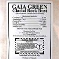 Glacial Rock Dust