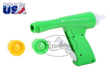 Includes 1 Yellow nozzle (2.0 GPM) and 1 Green nozzle (3.0 GPM).