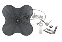 Contains replacement parts for your Lesco 101186 High Wheel Fertilizer Spreader.