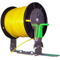 Keeps your trimmer line spool in place in your open or enclosed trailer. SPOOL NOT INCLUDED.