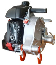 For quicker pulling jobs, consider this High Speed Winch. It can pull 120' per minute, depending on the load.