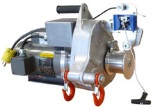 Both of these AC Electric Winches are ideal for pulling or lifting applications in industrial settings.