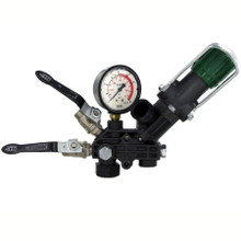 Pressure Regulator for the Udor Kappa 40 and Kappa 55 Diaphragm Pumps.